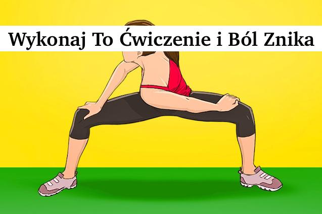 Proste ćwiczenie pomoże zmniejszyć ból w plecach zaledwie 1 tydzień