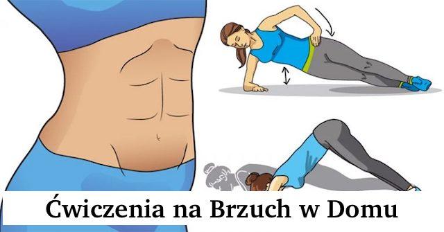 Ćwiczenia na Brzuch – Trening w domu