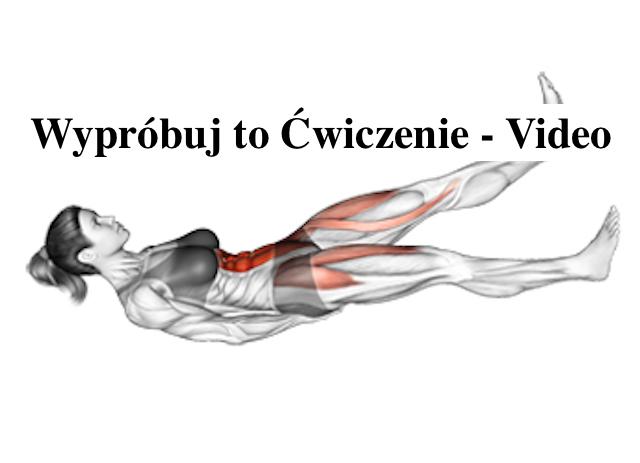 Ćwiczenie na Brzuch – Efekt Murowany – Video