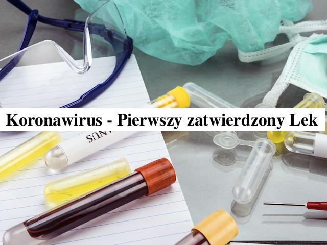 Koronawirus – Fawilawir pierwszy zatwierdzony lek stosowany w leczeniu – Gosia Klos