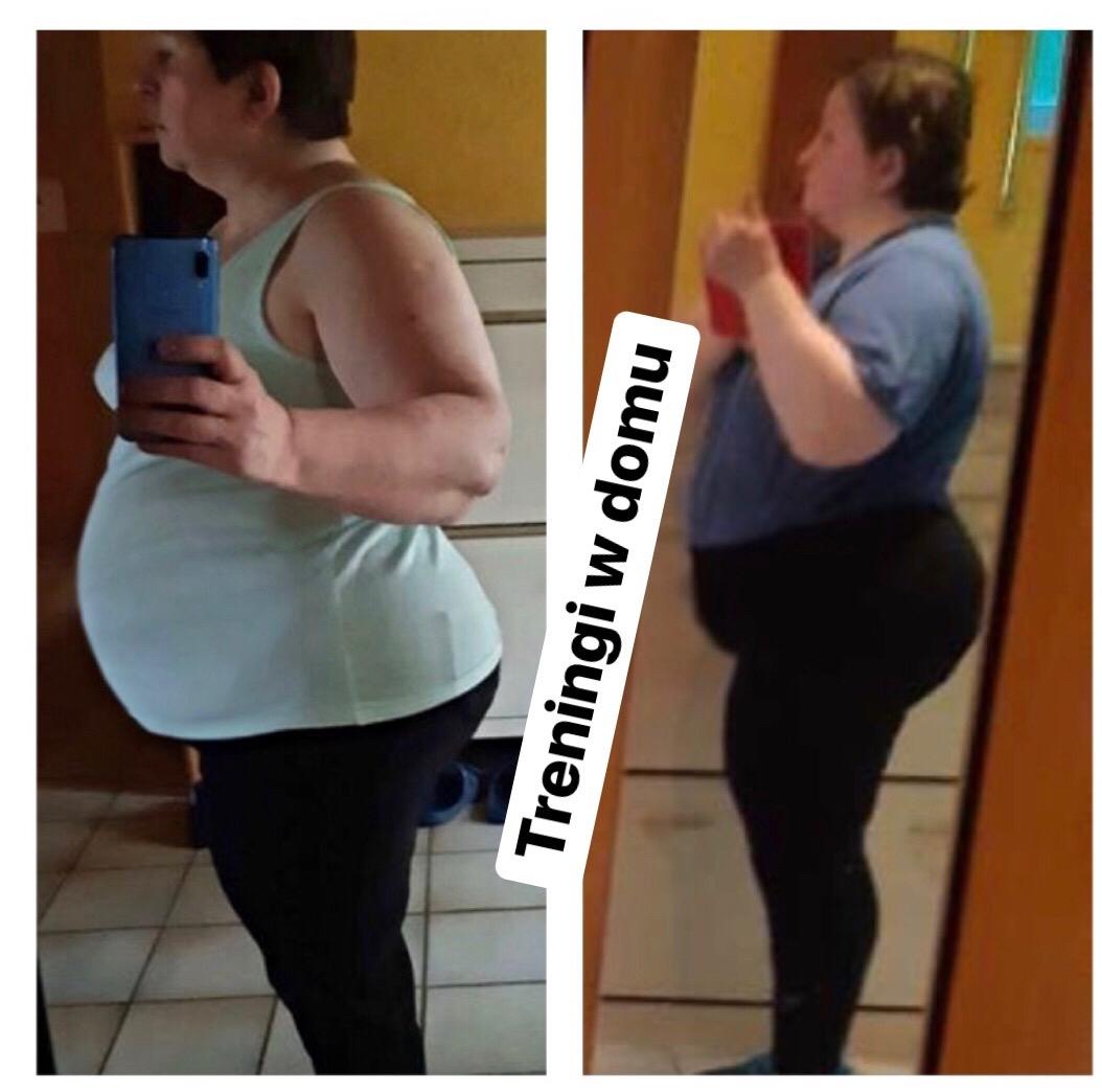 Metamorfoza, odchudzanie, dieta, treningi online, Gosia Klos