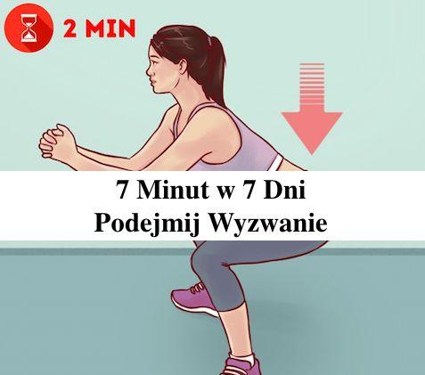 7 Minut – 7 Dni Ćwiczeń – Żegnajcie Fałdki na Brzuchu