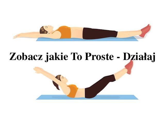 Ćwiczenie na Dolny Brzuszek – Zrób go na Noc