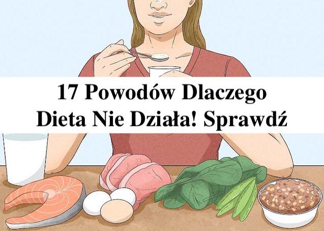 17 powodów dla których Twoja Dieta nie działa – Damian Lisiński