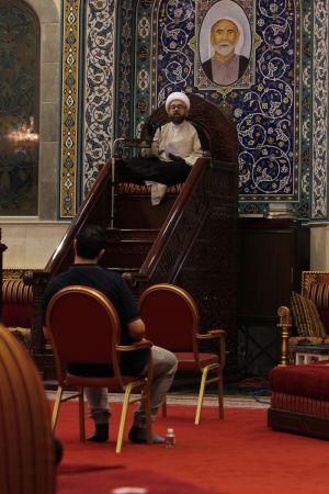ياسين الجمري - التغطية المصورة لمحاضرة ليلة العيد 1442 هـ 5