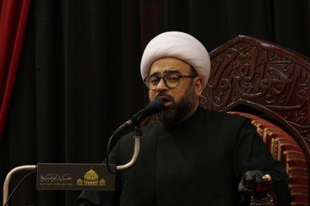 ياسين الجمري - التغطية المصورة لمحاضرة ليلة 21 رمضان 1442 هـ  5