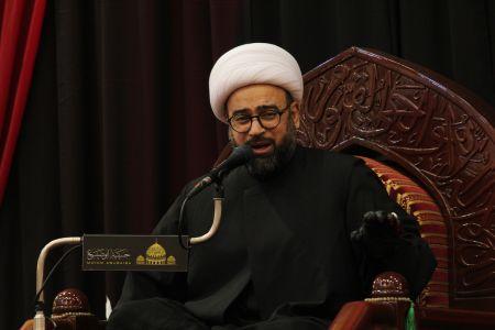 ياسين الجمري - التغطية المصورة لمحاضرة ليلة 21 رمضان 1442 هـ  6