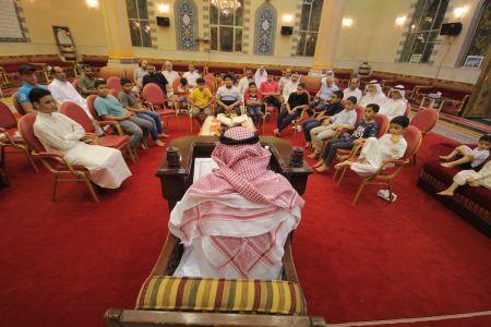 الاستاذ عبدالحسين سلمان - التغطية المصورة للختمة القرانية ليلة 30 من شهر رمضان – 1440 هـ 10