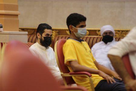 ياسين الجمري - التغطية المصورة لمحاضرة ليلة 30 رمضان 1442 هـ 1