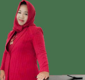 R. Aj. Hawiyah Karim, Komisioner Komisi Informasi (KI) Sumenep. (Foto FB Wiwik Karim)