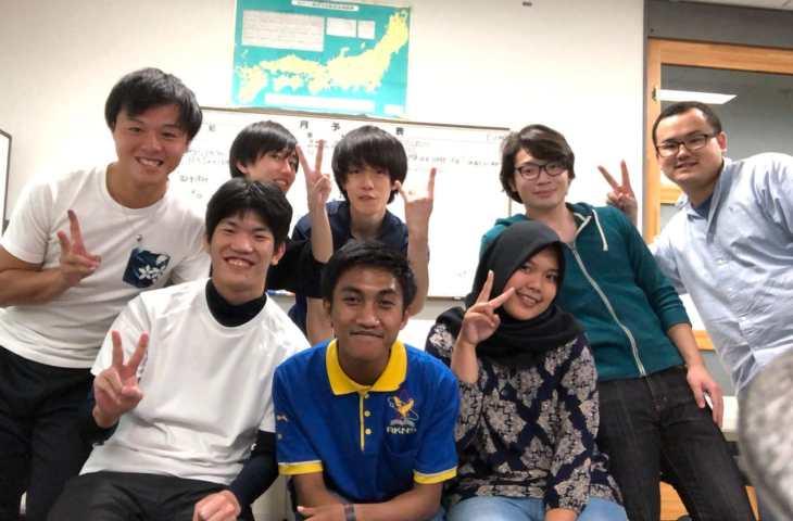 Student Exchange ke Jepang, Syauqan Wafiqi: Belajar Ciptakan Penemuan Baru