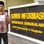 Minta Data DD dan ADD Dipersulit, Warga Pocong Sengketakan Kades ke KI Bangkalan