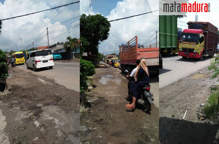Banjir di Blega Sudah Surut, Kemacetan Mulai Berkurang