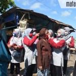 Sambil Bagikan 1000 Masker, Nia Kurnia Fauzi Ajak Masyarakat Pertahankan Sumenep Tetap Zona Hijau