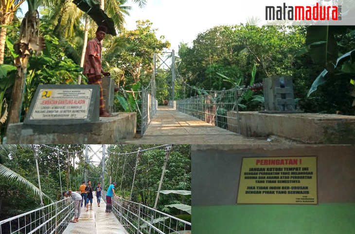 Jembatan Gantung Aladin Undang Perbuatan Mesum di Mushalla Asta K. Sudagar Gapura Barat