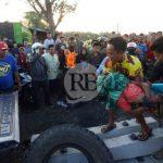 Sopir Truk asal Sampang Tewas Disambar Kereta Api