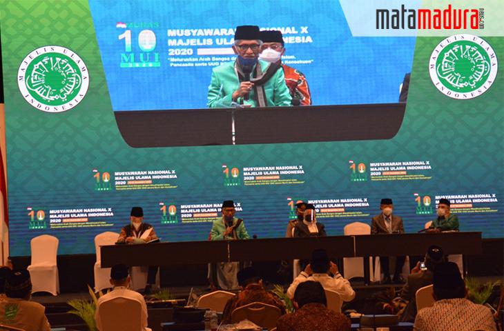 KH Miftachul Akhyar Terpilih Jadi Ketua Umum MUI 2020-2025 di Munas X
