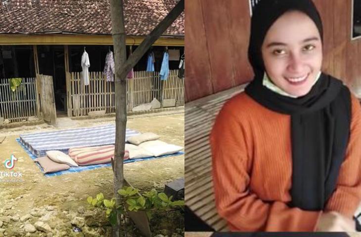 Viral, Wanita Cantik di Sampang Kunjungi Rumah Pacar yang Sederhana