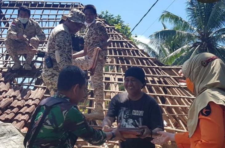 Gerindra Jawa Timur Peduli Gempa Malang