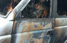 Mobil Perangkat Desa Dibakar Orang Tak Dikenal