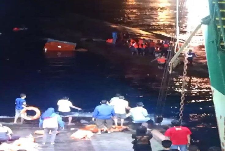 KMP Yunicee Tenggelam, 14 Masih Hilang dan 6 Penumpang Meninggal