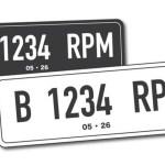 Polisi Bakal Ubah Warna Pelat Nomor Kendaraan Jadi Putih Tulisan Hitam