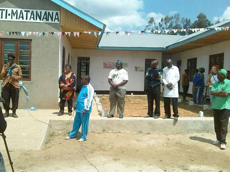 Eröffnung des Gesundheitzentrums Matanana