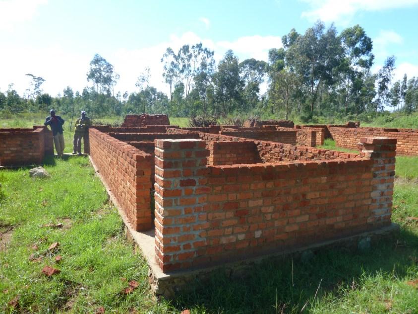 Fundament für Krankenstation