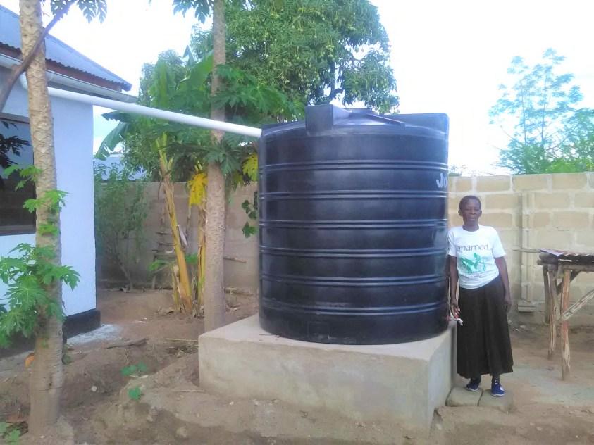 Wasser für Hands in Hands Community Mwanza