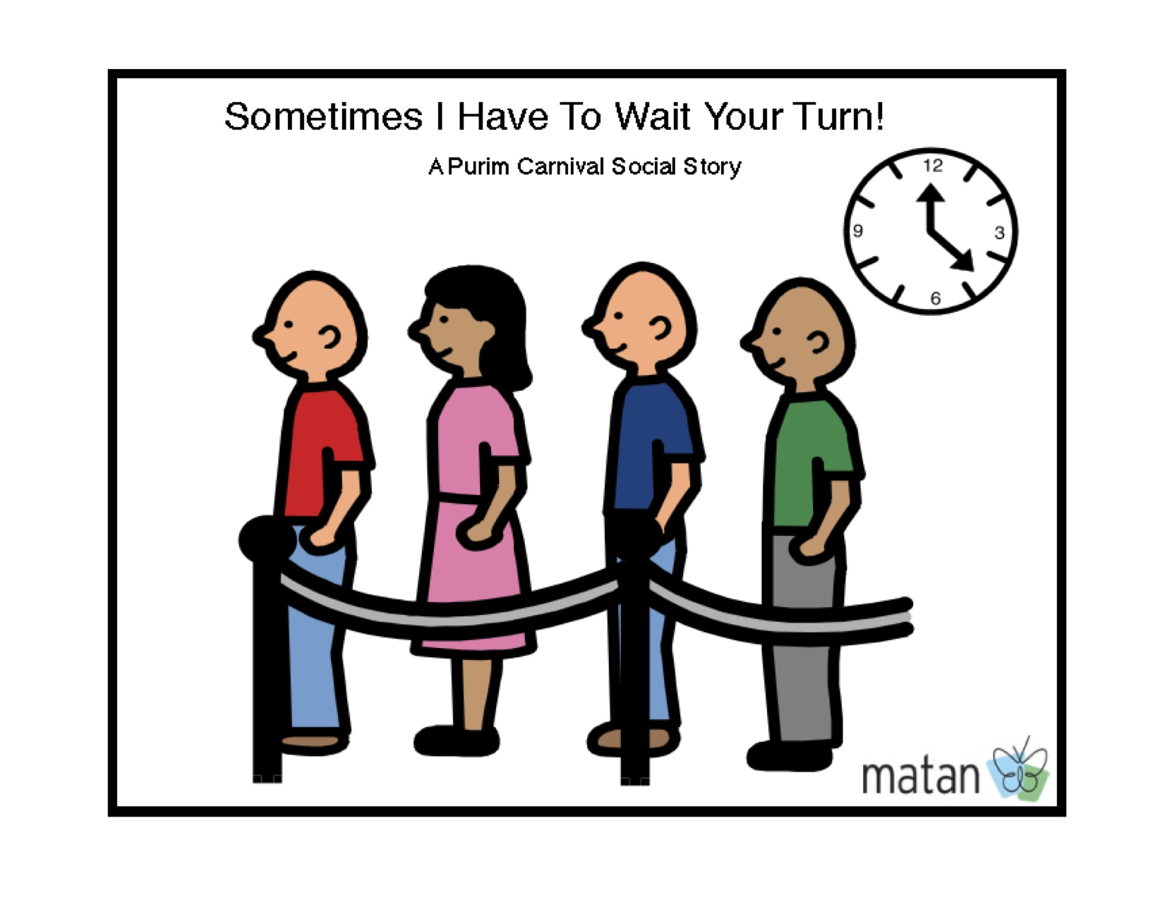 Purim Carnival Social Story