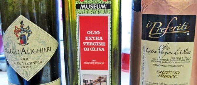 Oliven og olivenolje. Historien.