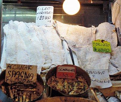 297 Klippfisk, filet i Italia