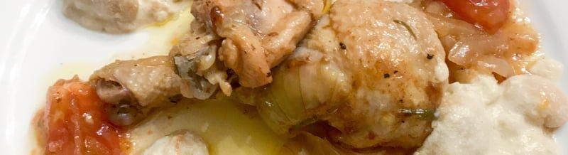 Kylling som i Piemonte, skritt for skritt.