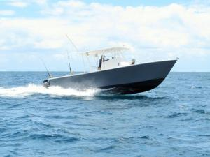 New sportfishing boat