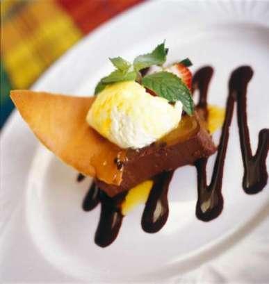 Dessert at Matava, Fiji