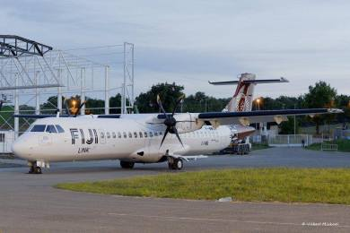 Traveling by Fiji Link ATR