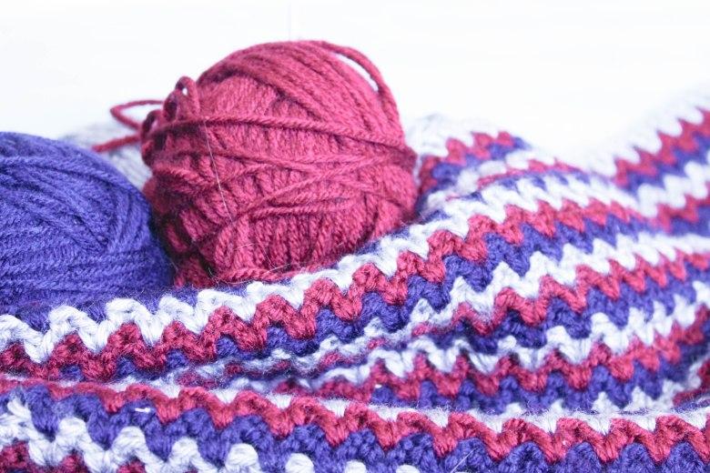 Double Crochet V-Stitch