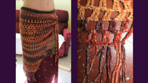 Belly Dance Hip Scarf Crochet Tutorial