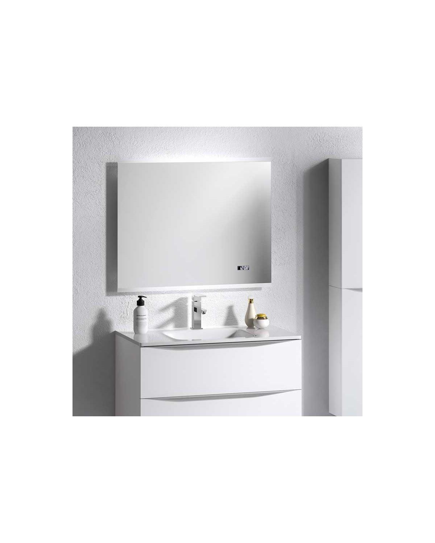 Miroir De Salle De Bain Spoty 80 100x65 Cm Anti Buee Lumieres Et