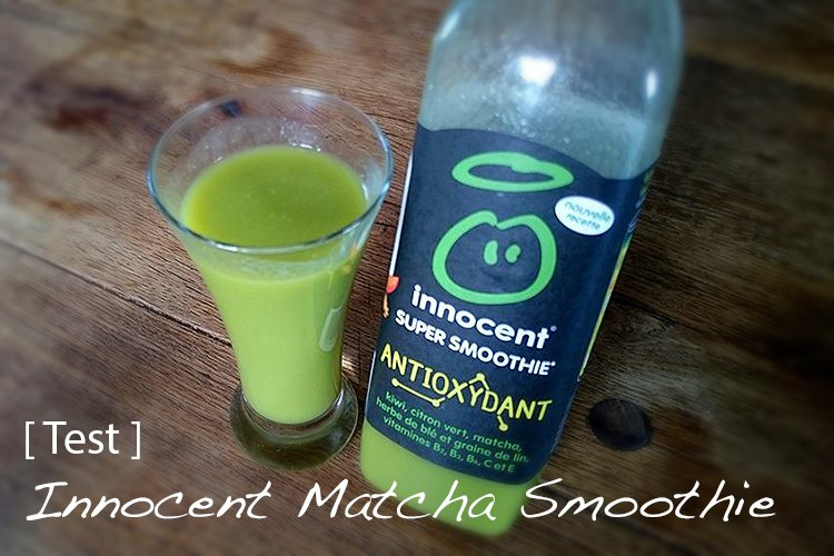 Innocent Detox Smoothie au matcha