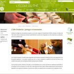 Ecole du Thé sur le web