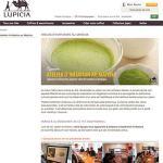 Site web Lupicia