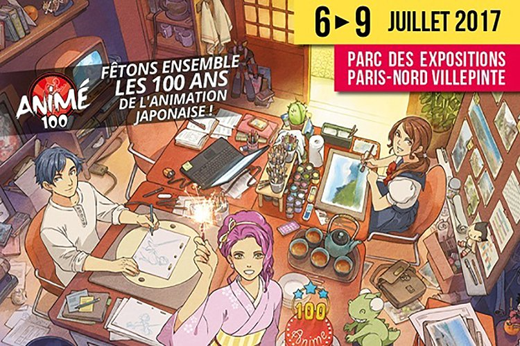 Affiche Japan Expo 2017