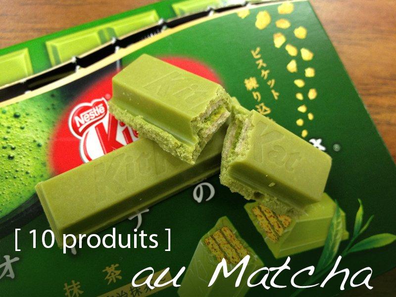 Les 10 produits au Matcha à découvrir et déguster