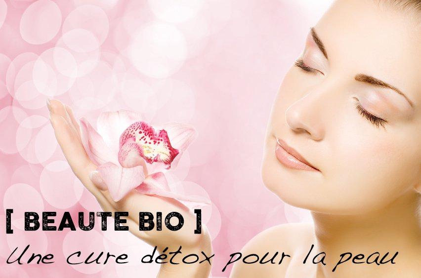 Cure détox pour la peau en 3 étapes