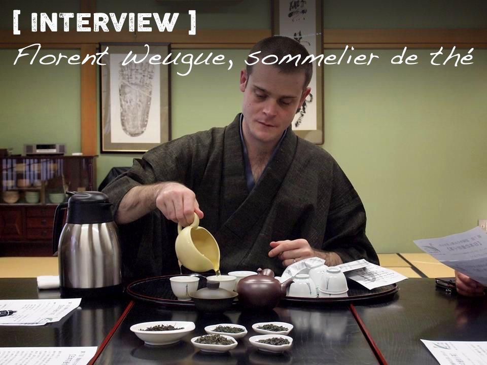 Florent Weugue, sommelier de thé au Japon