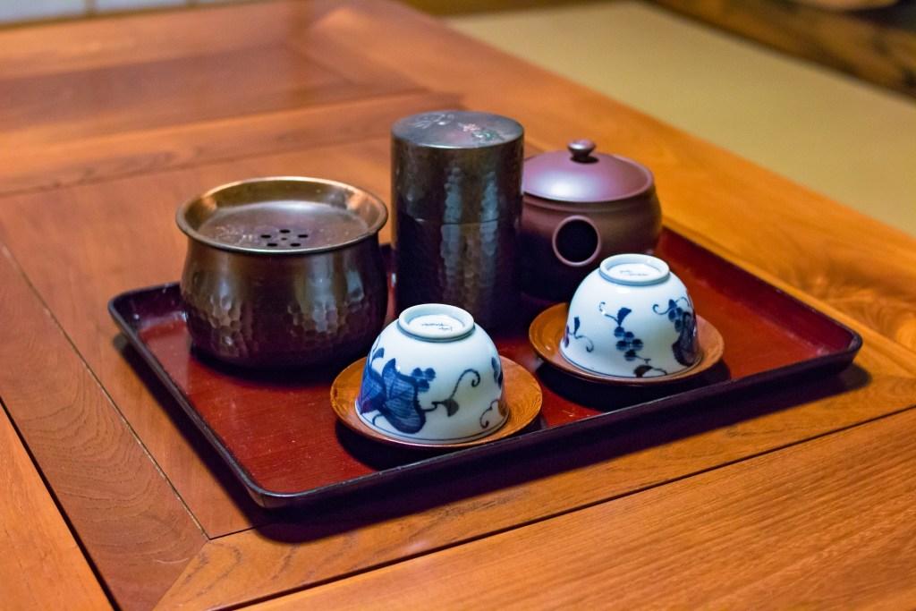 Plateau de thé japonais