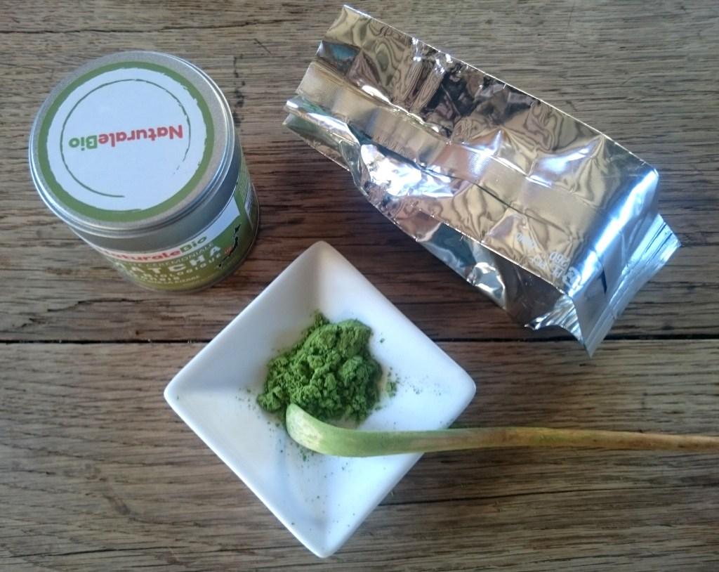 Test du thé Matcha NaturaleBio