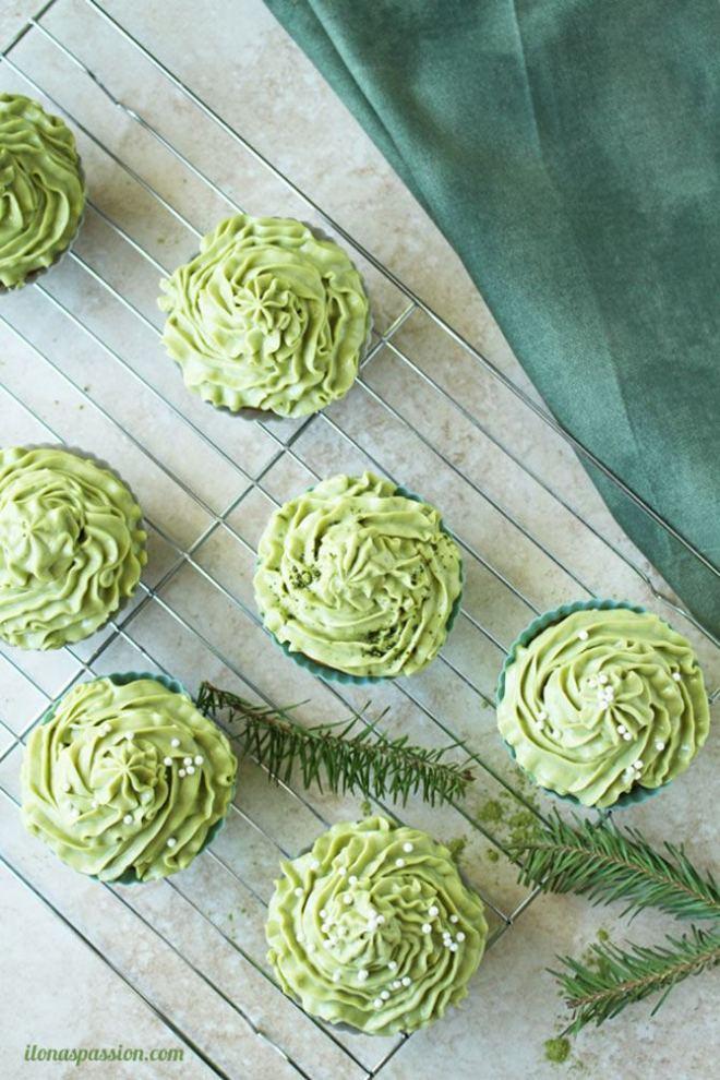 Matcha cupcakes
