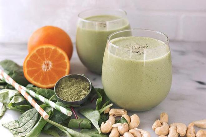 Orange Matcha Smoothie
